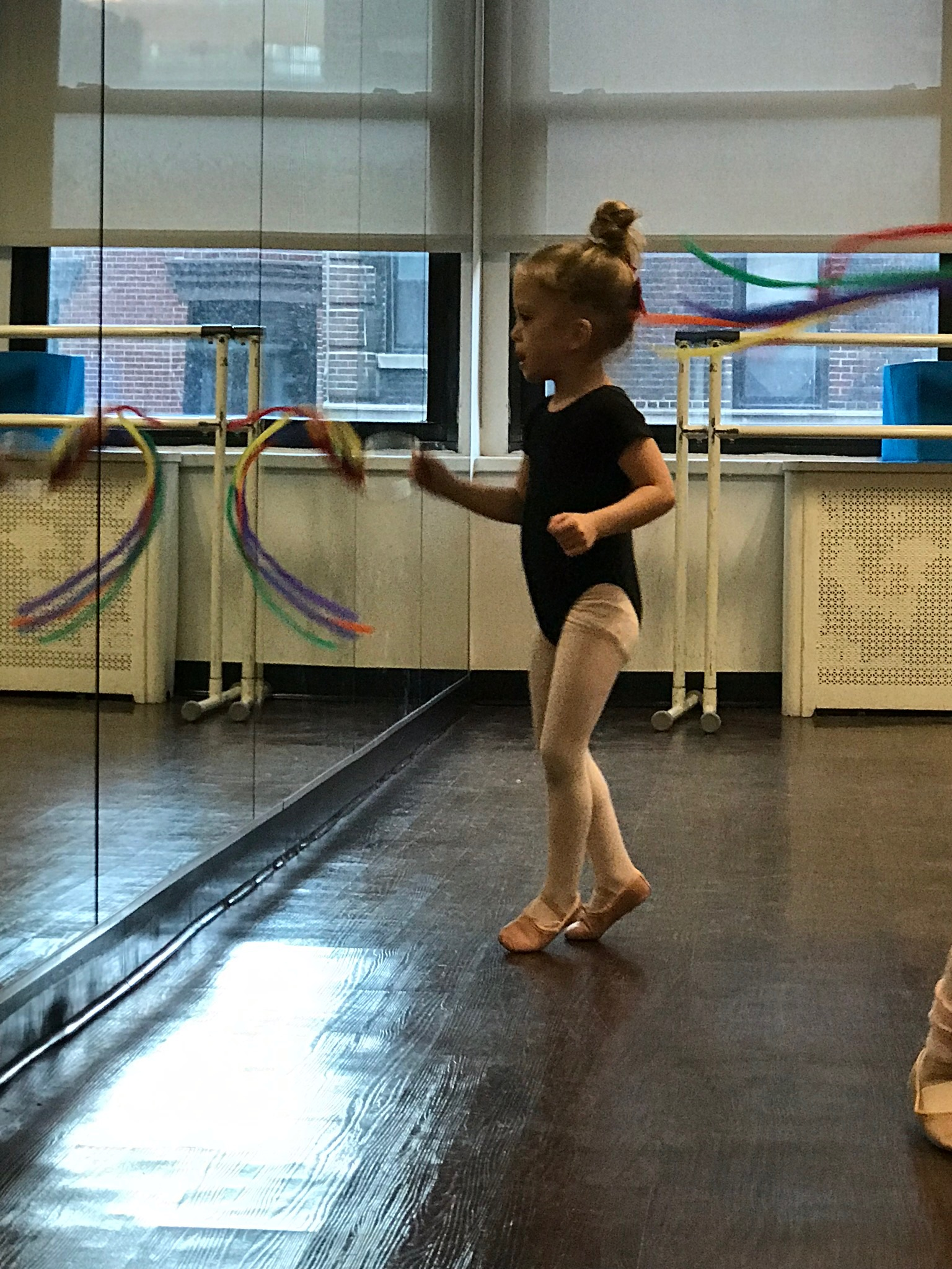 Friday evenings at ballet class
