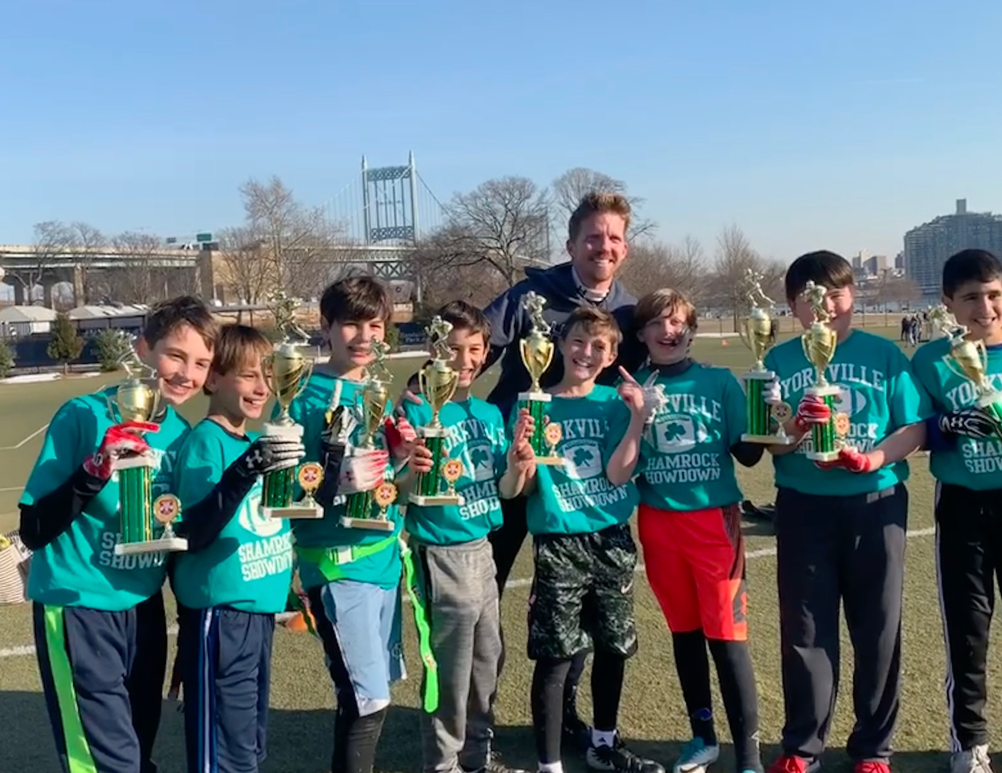 Meanwhile back in NYC, Rob coached a tournament and his team went undefeated!! It was agony to not be with Felicity each moment during this time but we both agreed that having so much going on that particular weekend was actually a blessing.
