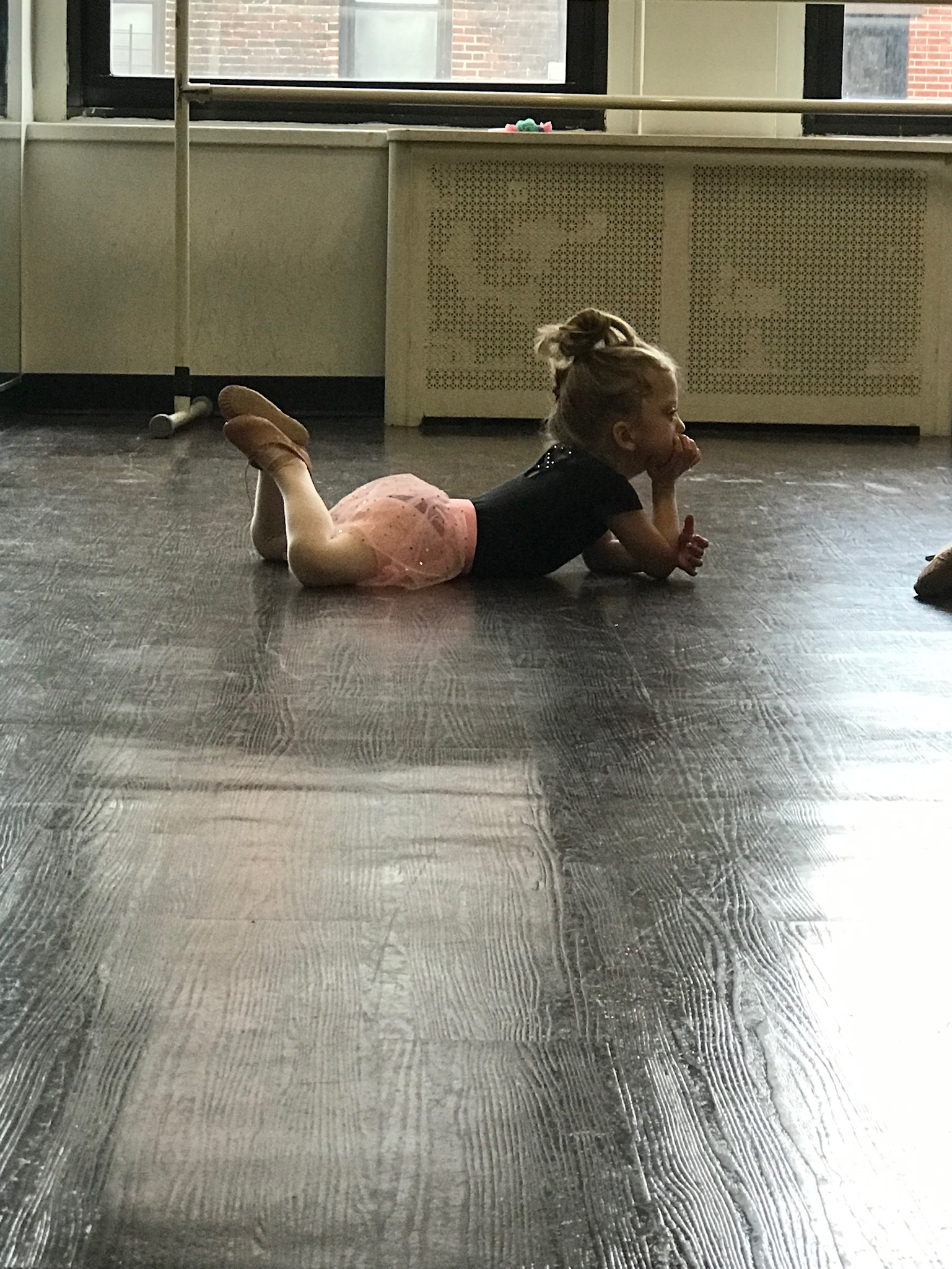 The highlight of our week, which lifts us up no matter how hard the days have been, is getting to watch this little one LOVING her ballet class.