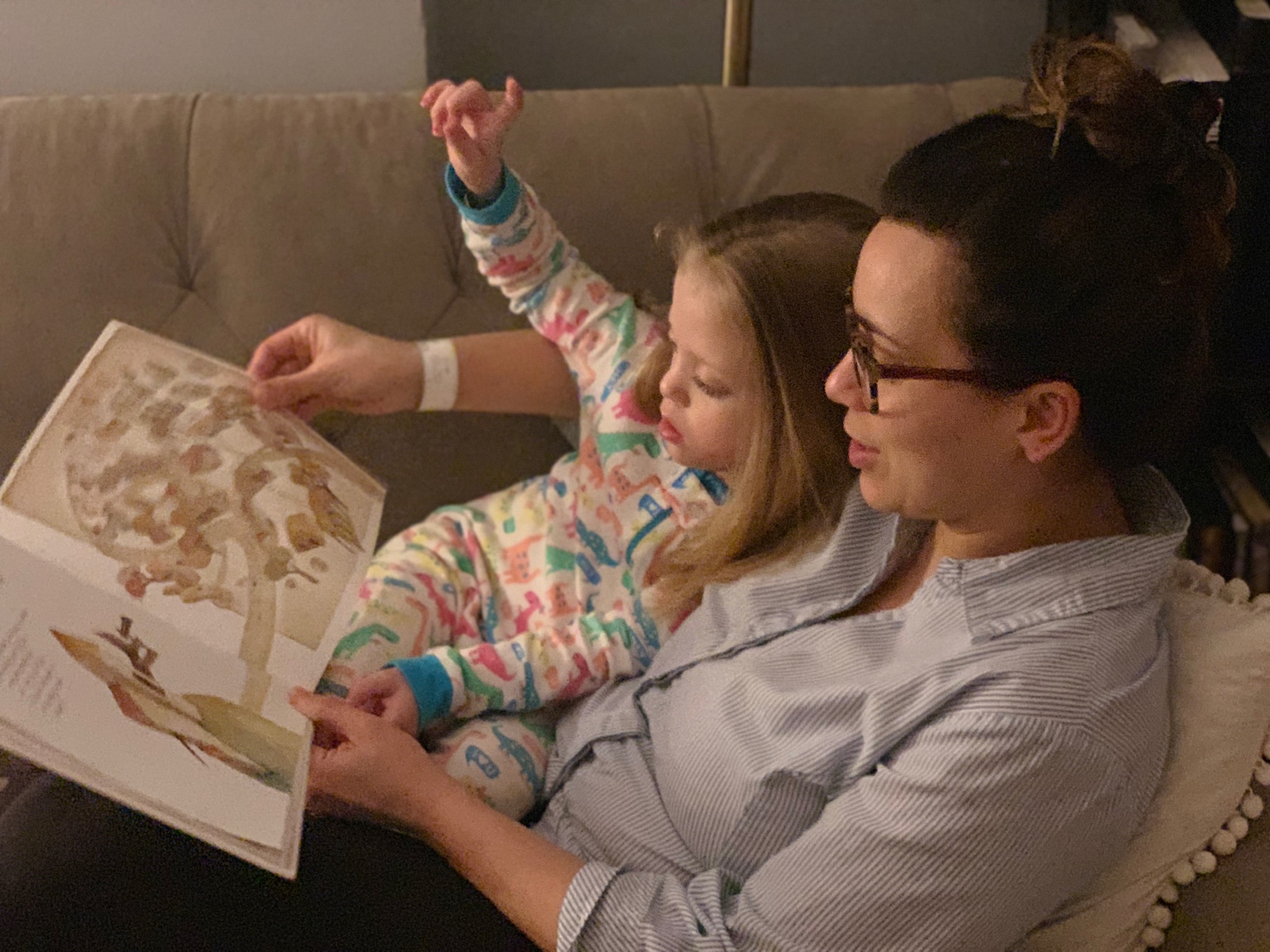 Snuggles and bedtime stories