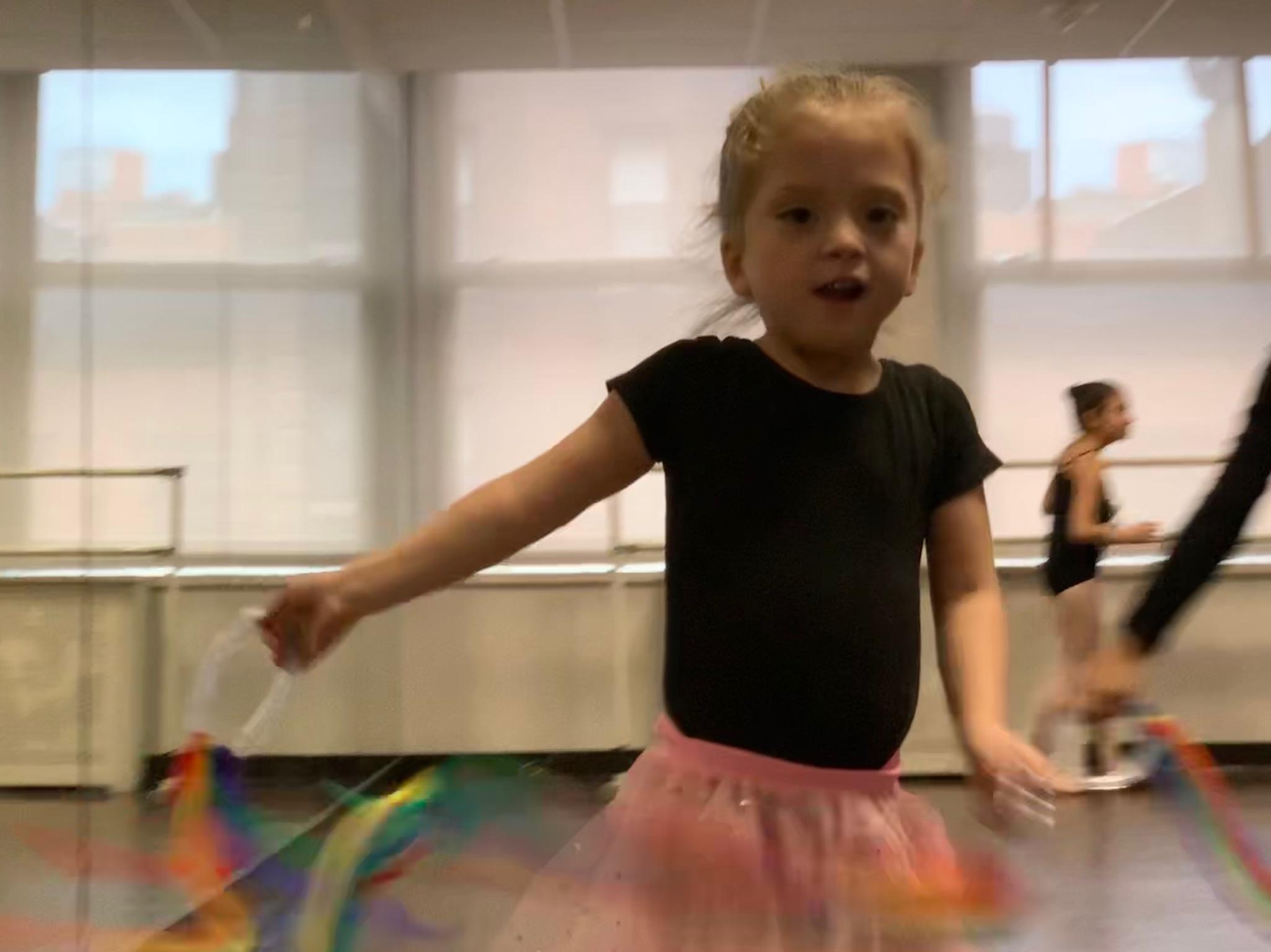 Blurry Ballerina