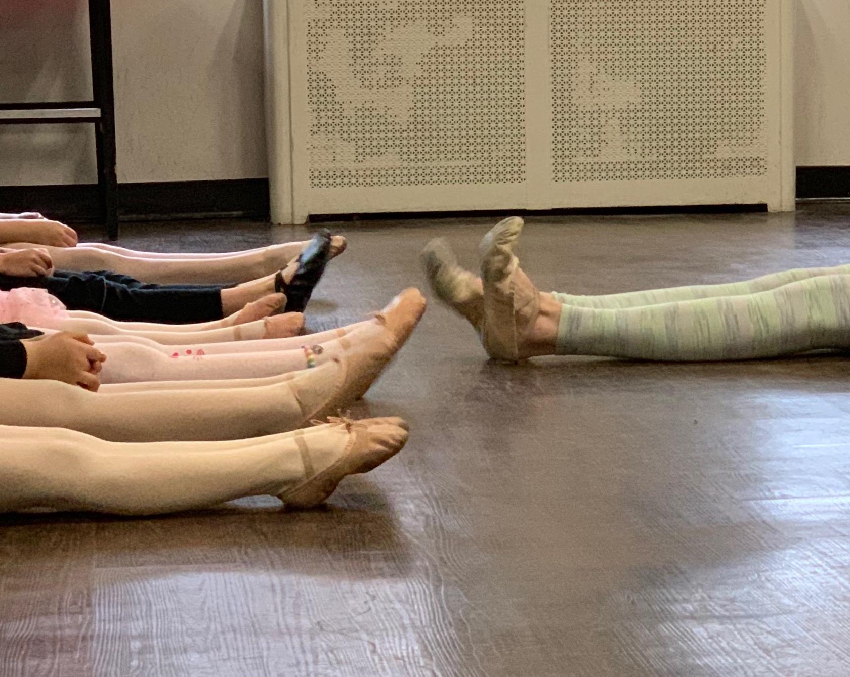 Friday ballet class