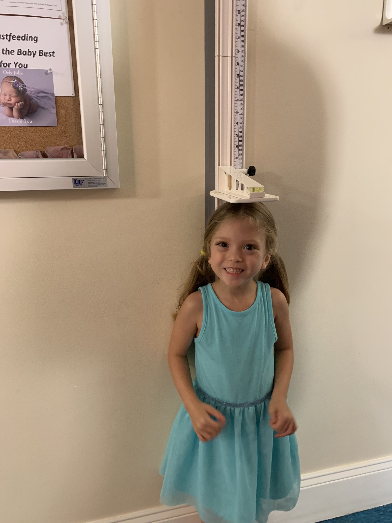 Measuring up at the drs office