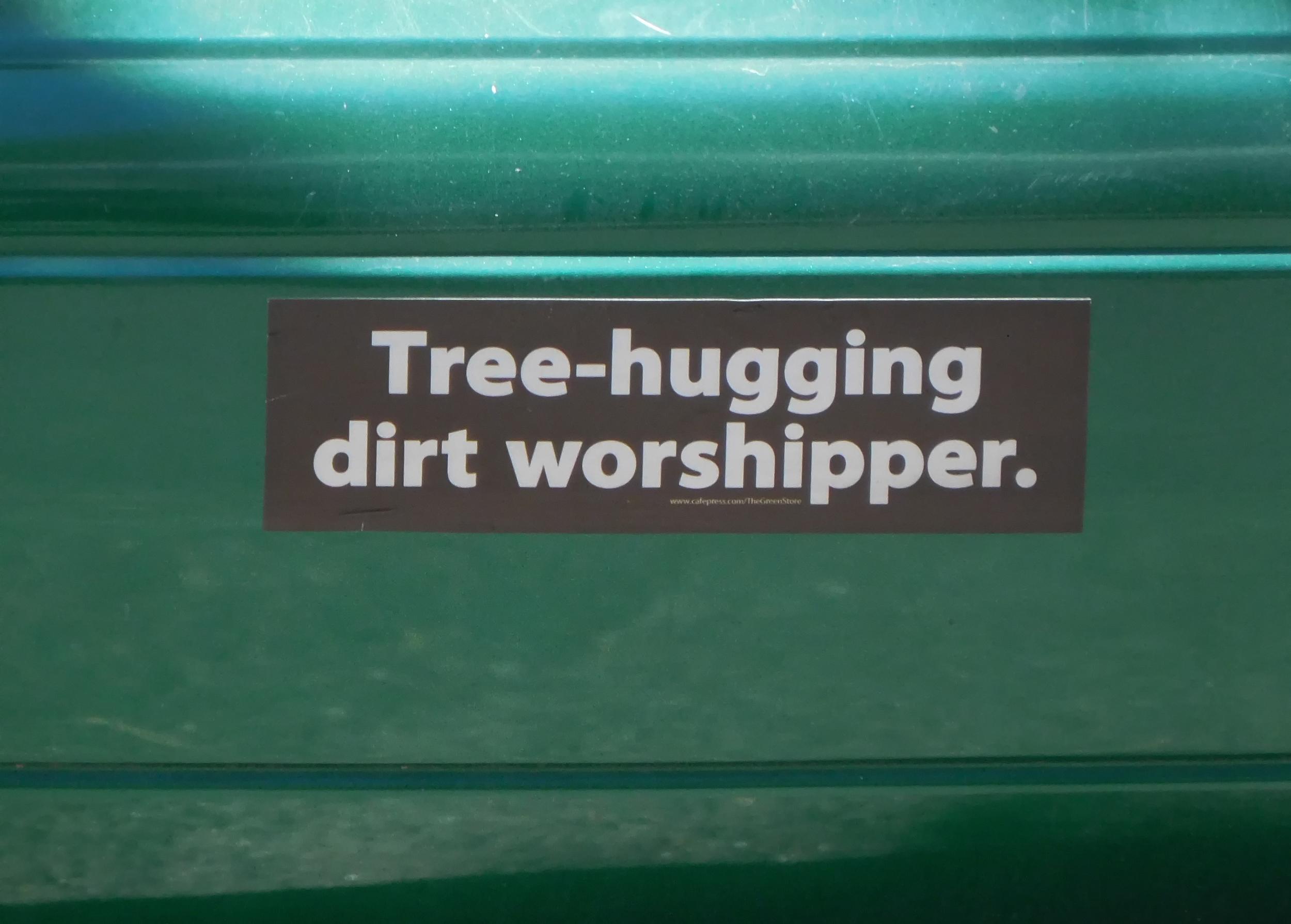 Joni found this bumper sticker. Yeah we resemble that remark!