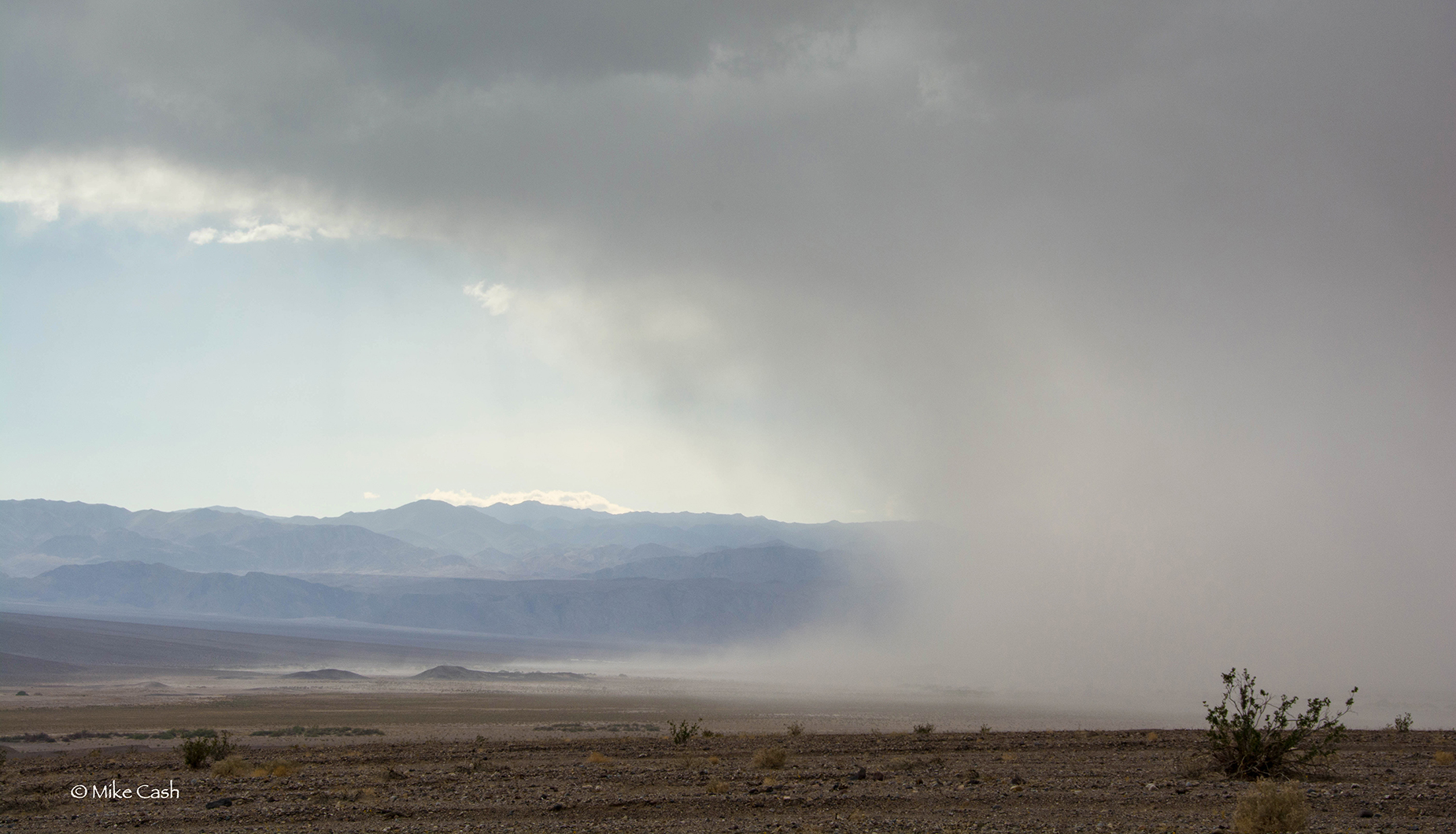 Edge of the sand storm.