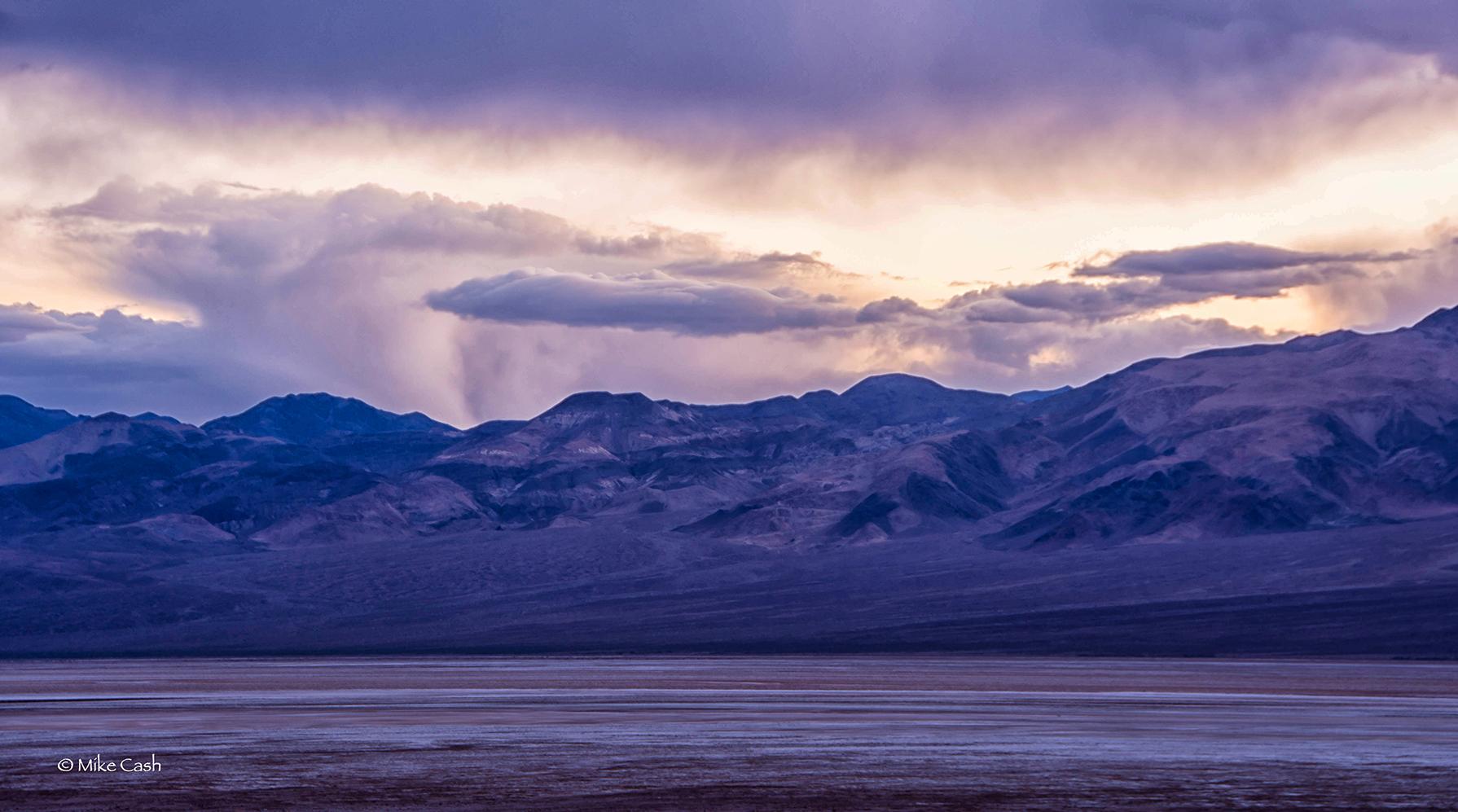 Panamint Range at Twilight