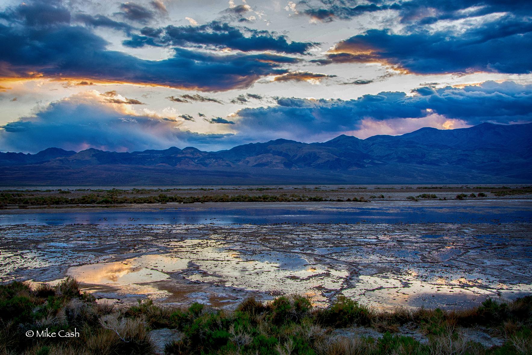 Salt Marsh at Twilight