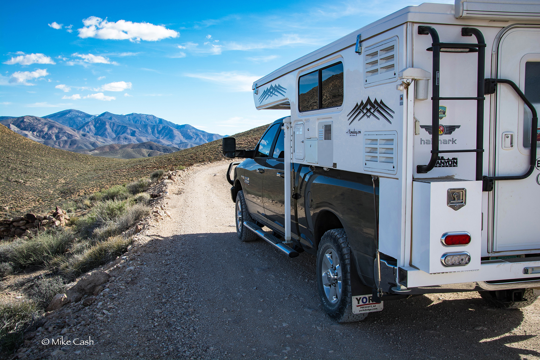 Nomadacy Support Vehicle