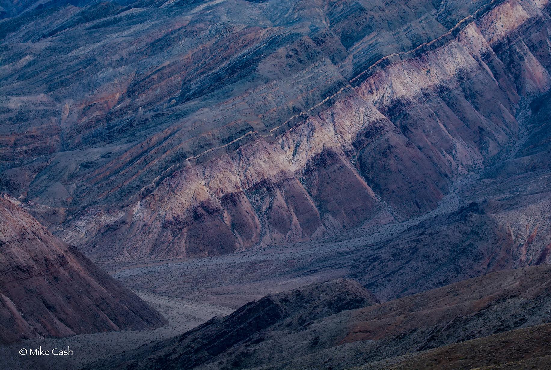 The canyon at dusk