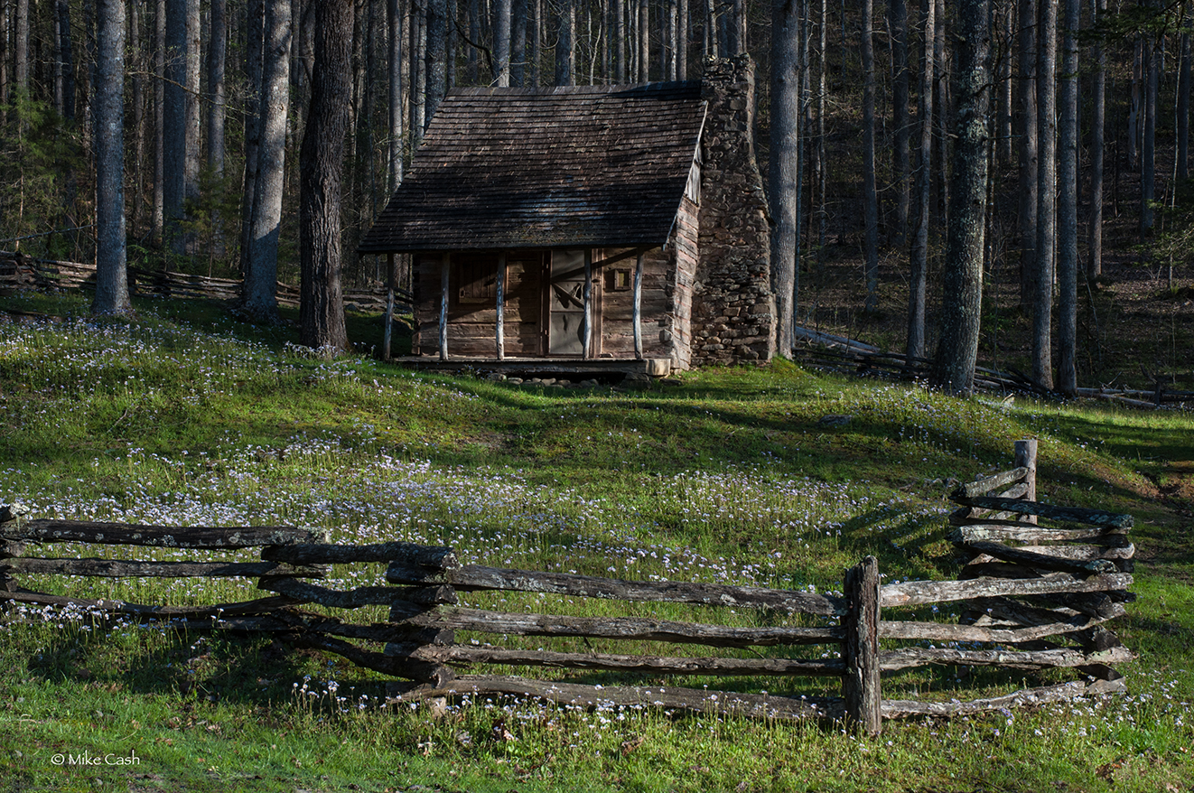 Stewart Cabin. Can you imagine sitting on the front porch?
