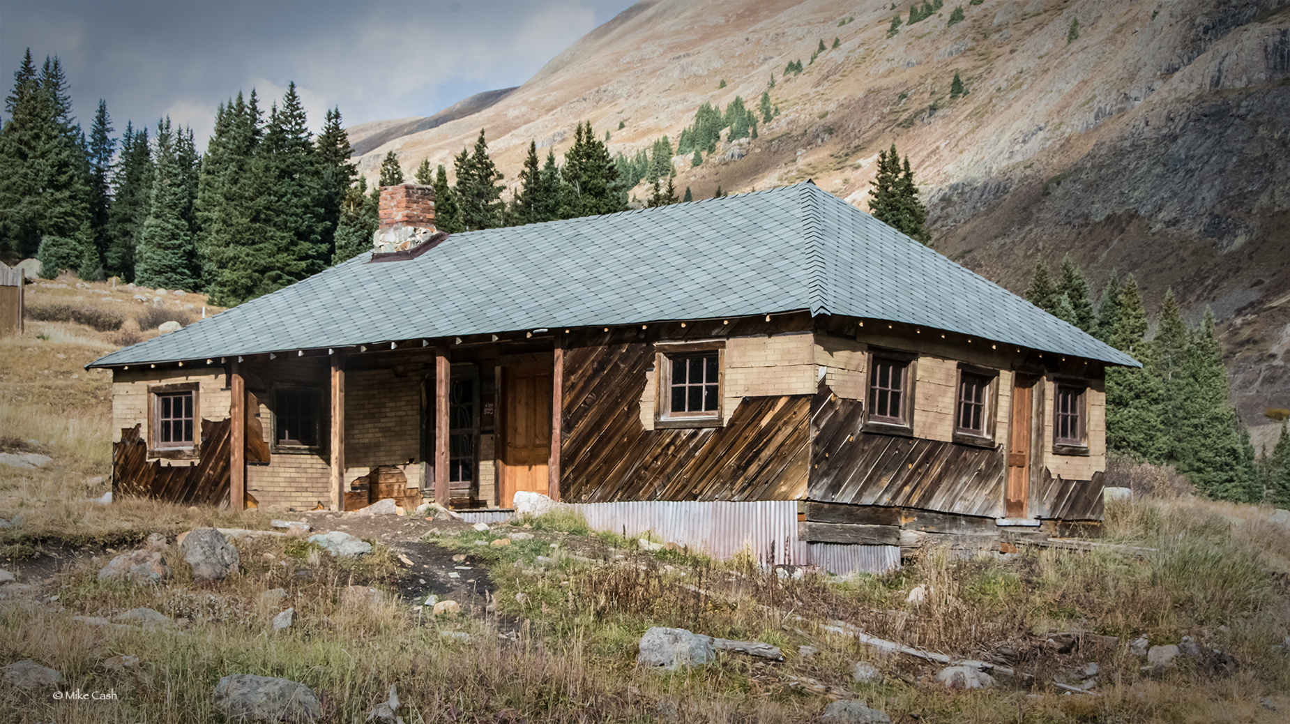A larger house at Animas Forks