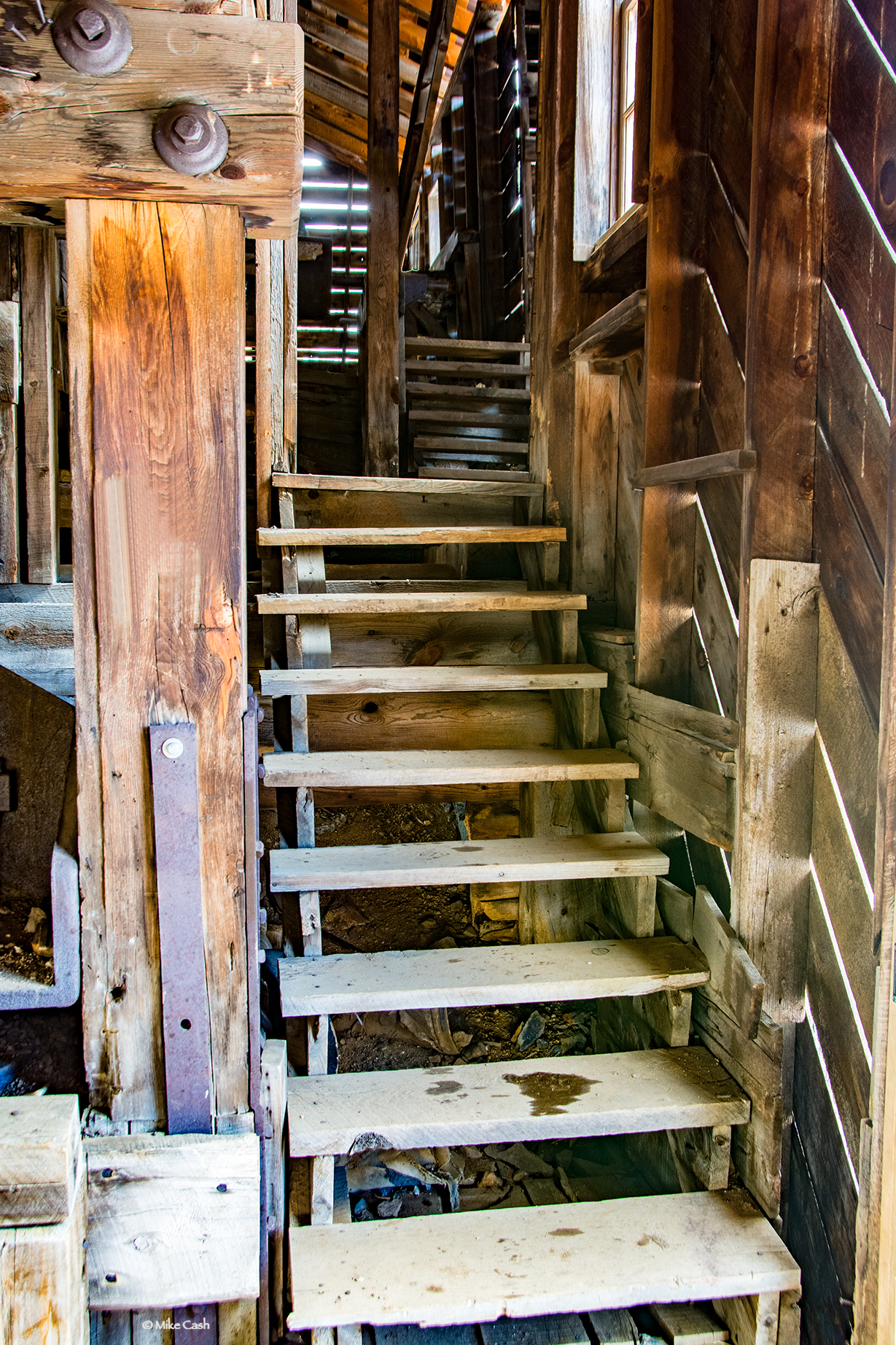 Stairs and stairs....