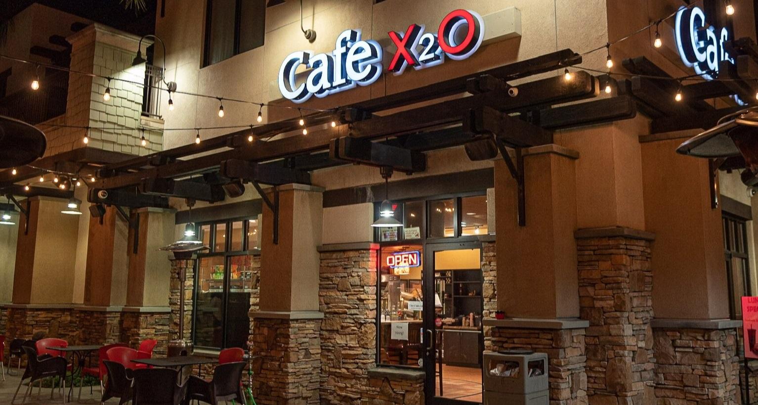 Glendora - CAFE X2O551 South Grand Ave.Glendora, California(626) 335-9000