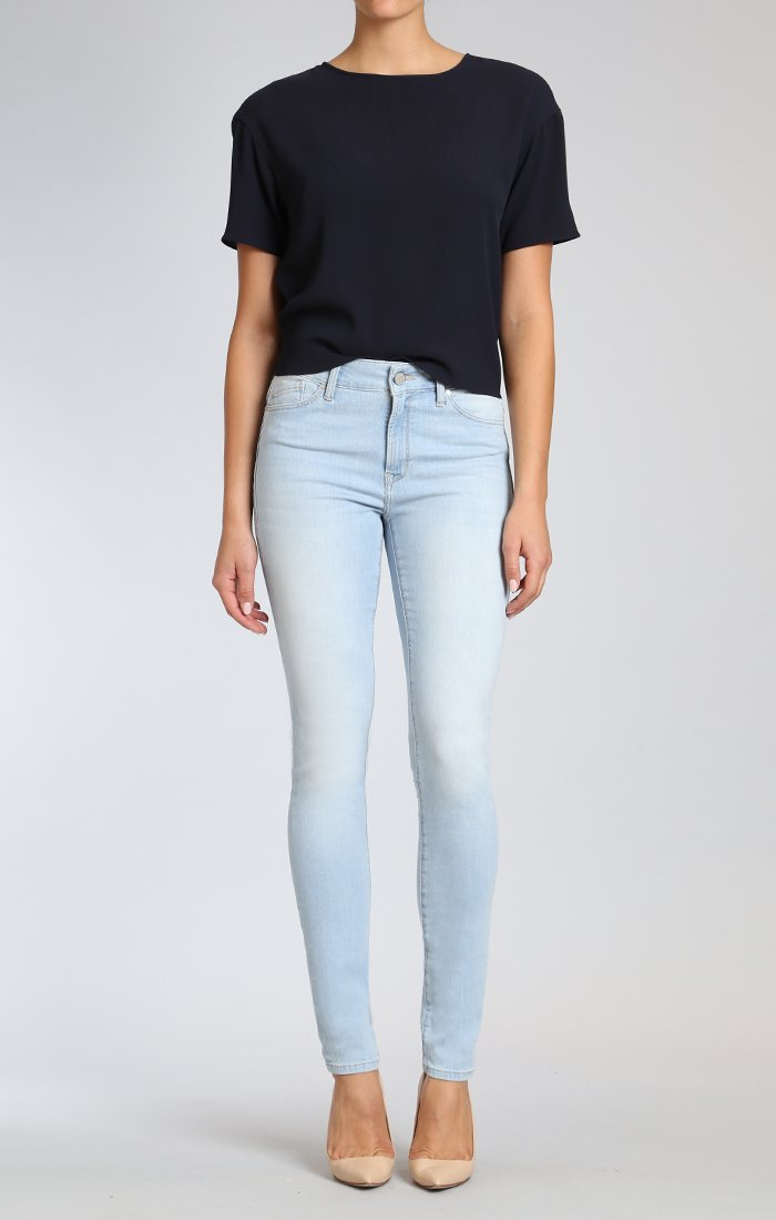 Light High-rise Skinnies