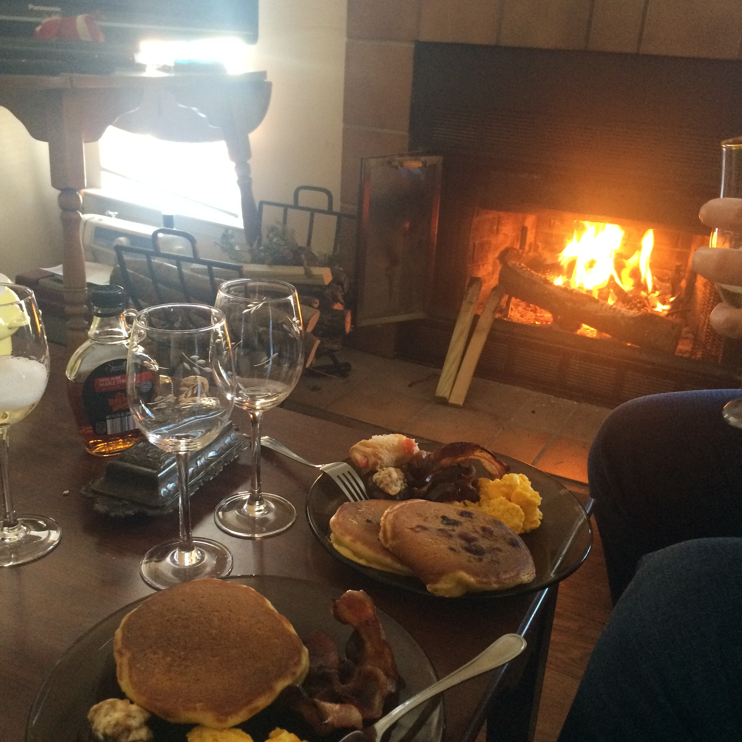 Seriously amazing brunch by Meredith and Michael