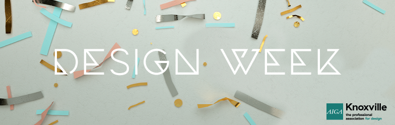 design week knoxville banner