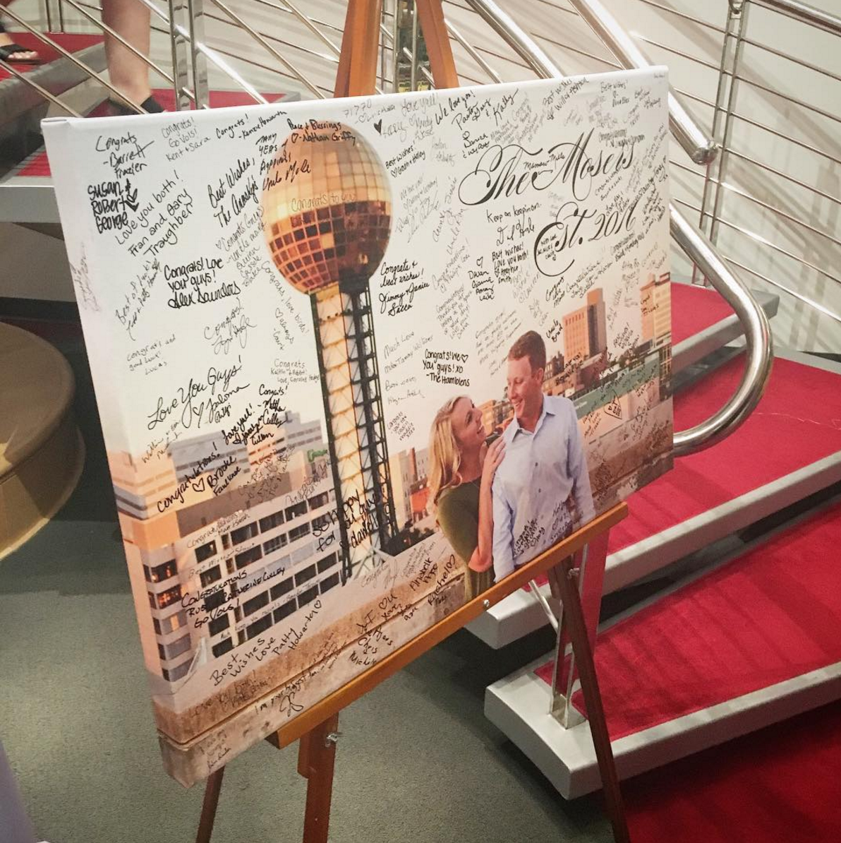 knoxville photography guestbook