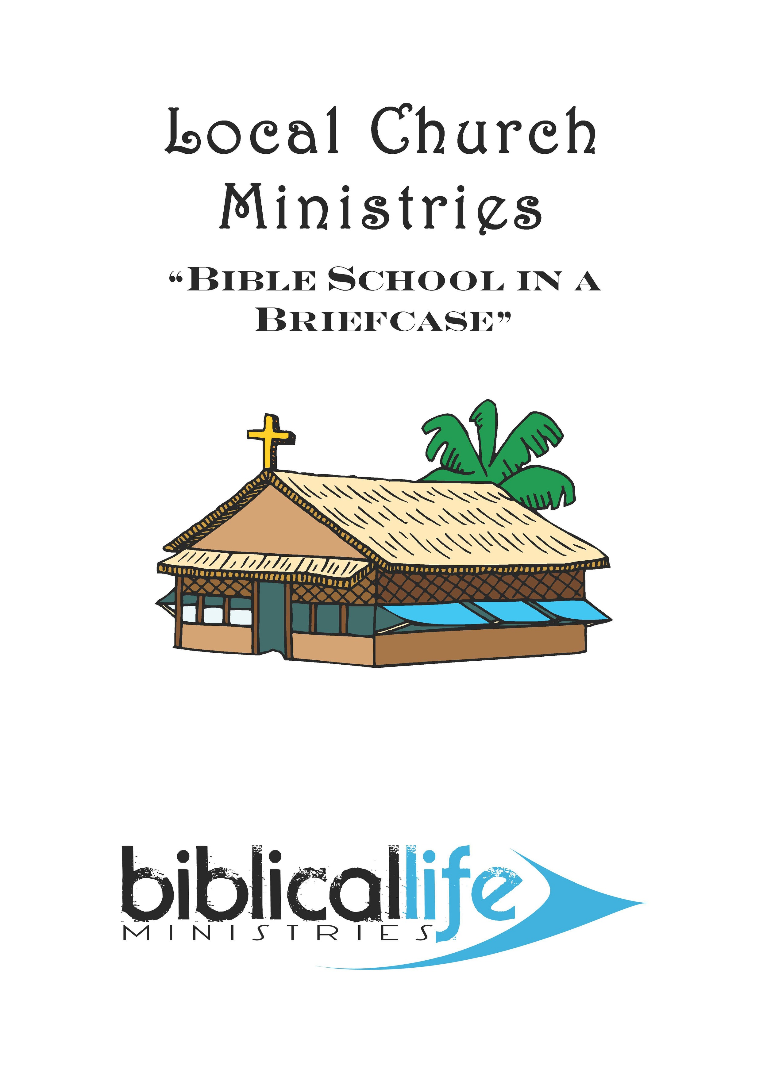 Local Church Ministries  : This class takes a look at some of the core ministries of the church: Worship, Children's Ministry, Family Ministries, Pulpit Ministries, Gifts of the Holy Spirit, Giving, Evangelism, Missions, with an emphasis on how they can practically and effectively work today. 60 page manual.