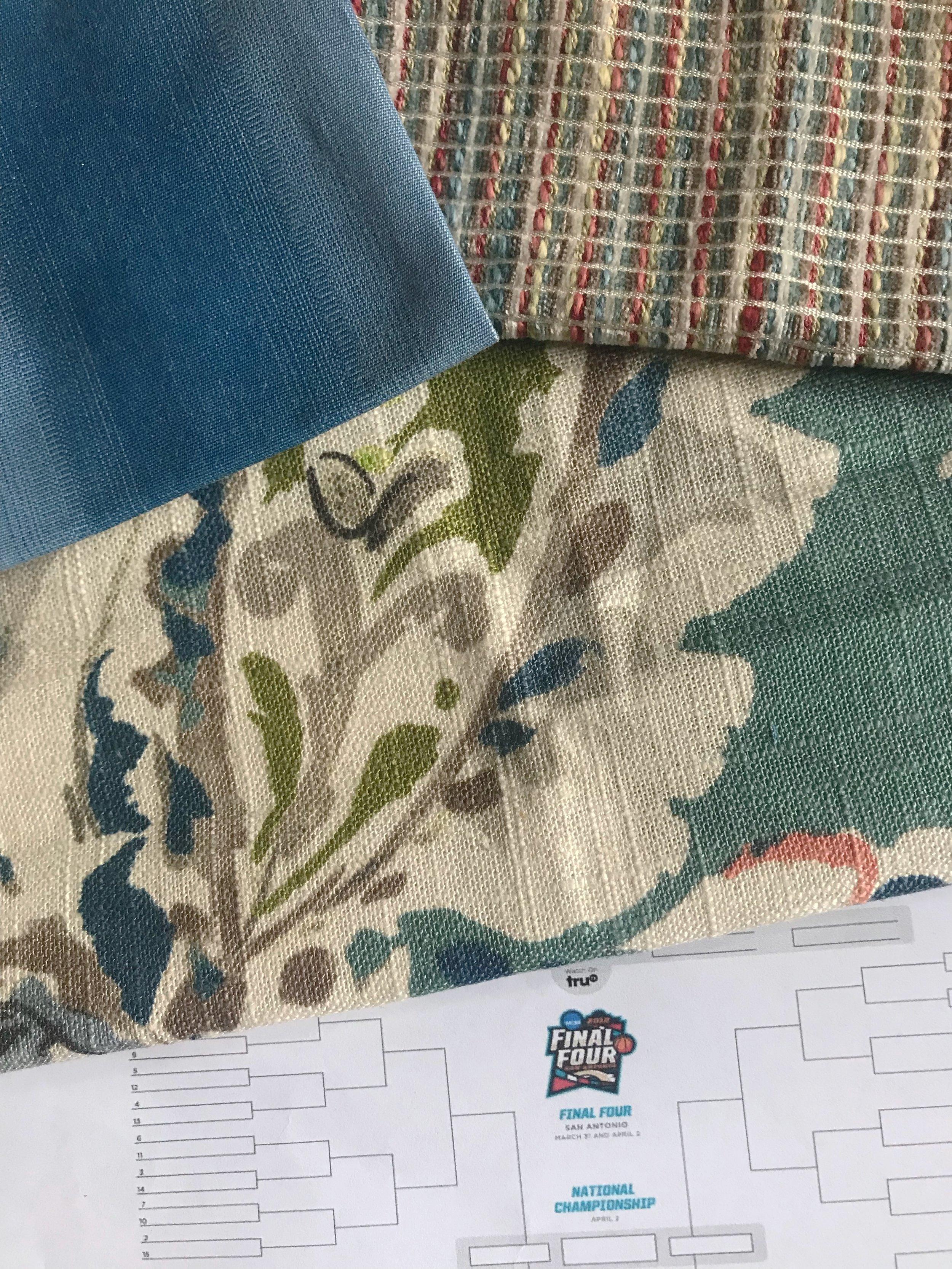 Fabric, interior designer, interior design fabric, Portland interior designer