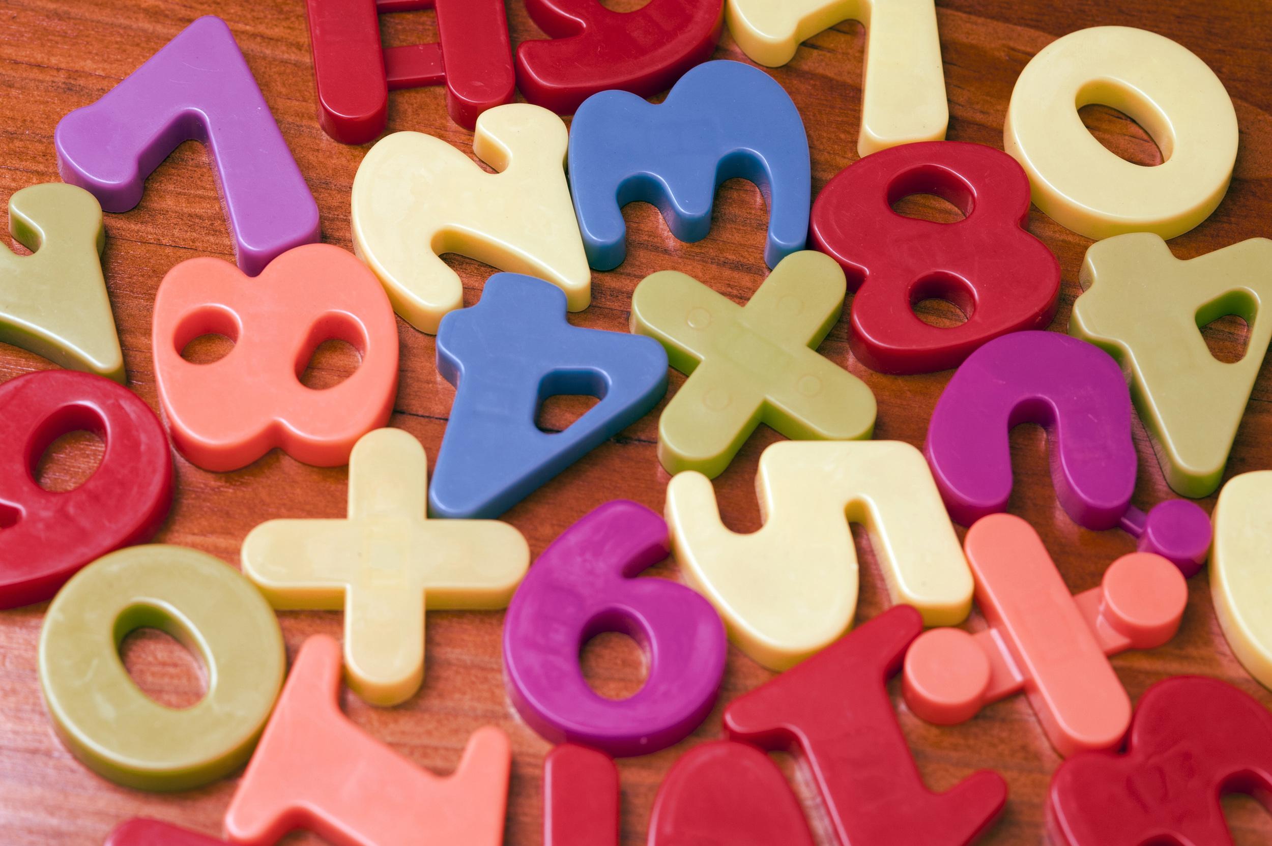 Plastic numbers for teaching mathematics