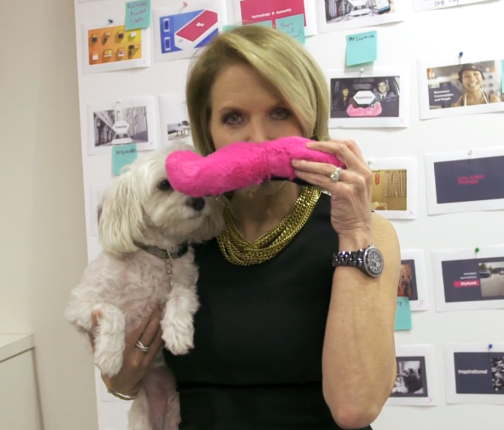Katie Couric takes a tour of Lyft HQ.