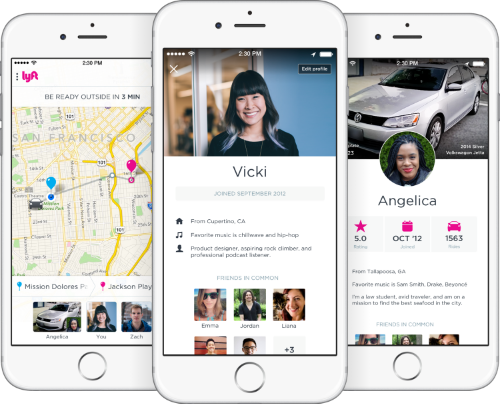 Lyft profiles showcase key stats for ratings and ride count, plus optional fun facts like hometown and favorite music. If you choose to connect with Facebook, you'll also see if you have any mutual friends.