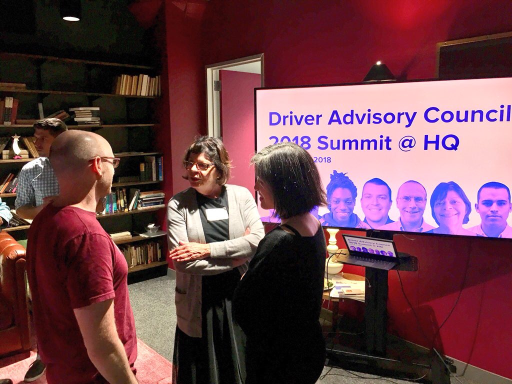DAC member, Dianne chats with Lyft executives who lead the Product, Design, and Engineering teams