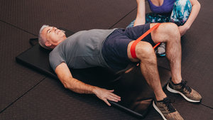 Core legband glute activation for ICBC Active Rehab