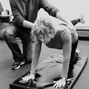 Mountain climber core exercise for ICBC Active Rehab stability