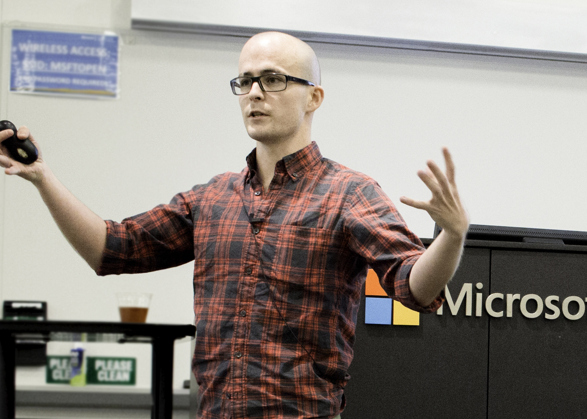 Roderick Campbell at Nonprofit Tech Week, Microsoft Silicon Valley