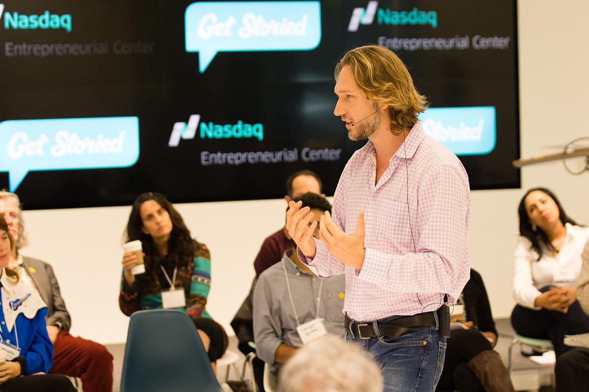 Arnaud Collery_StoryU Live_ Get Storied_Nasdaq Entrepreneurial Center.jpg