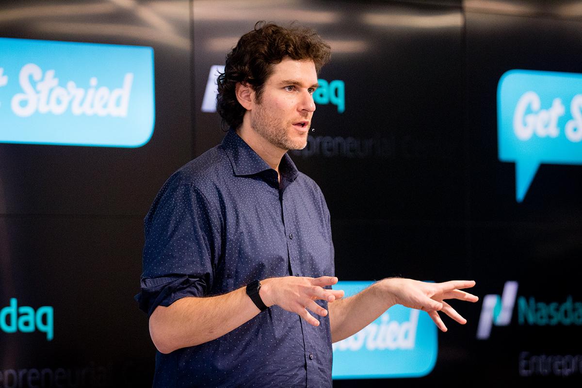 Get Storied_Michael Margolis_Nasdaq Entrepreneurial Center_StoryU Live.jpg