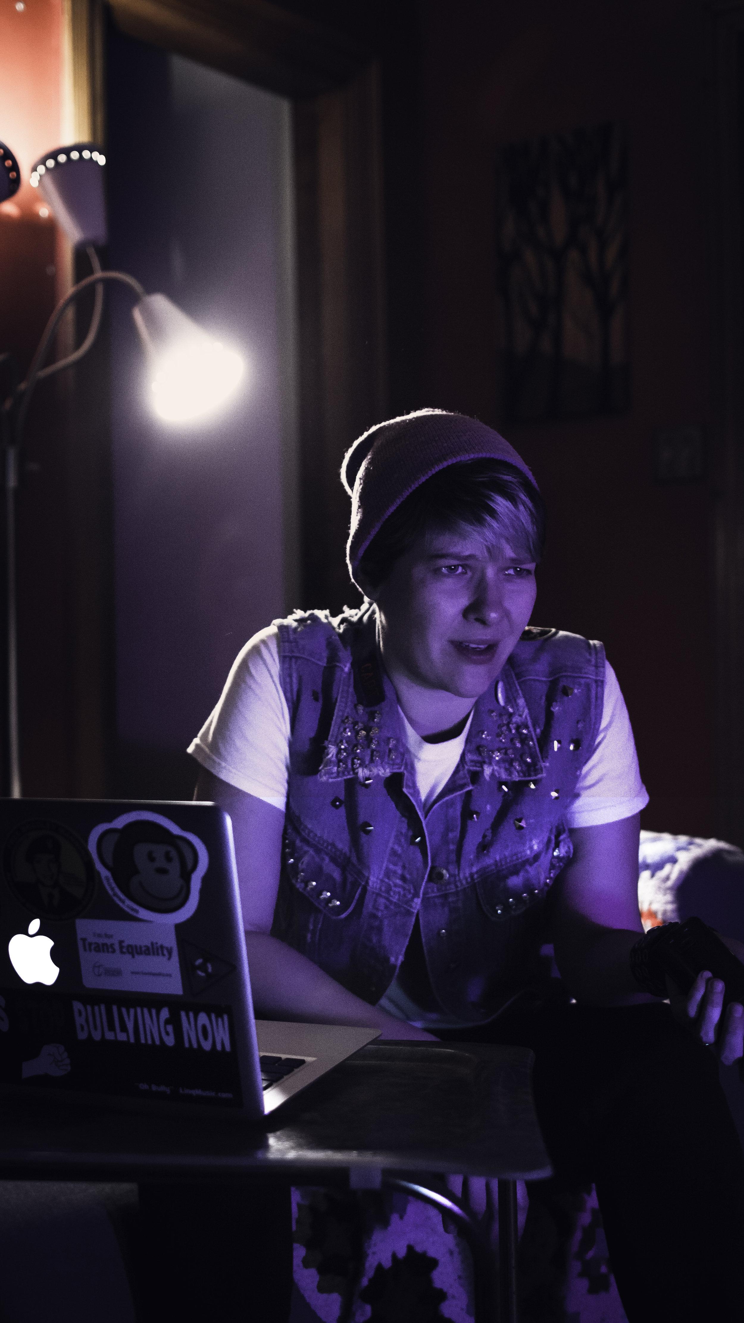 Anna Rose Ii-Epstein as Nate.Photo credit: Christopher Semel