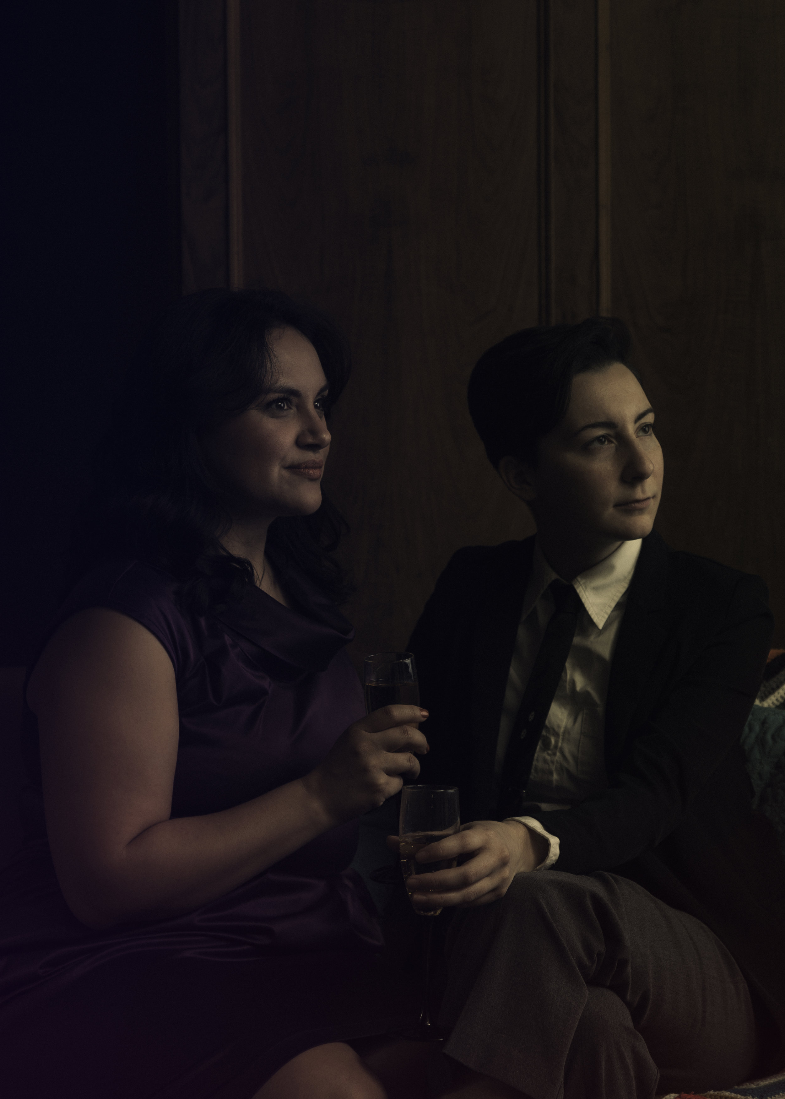 Samantha Michelle Nava as Leigh and Shalyn Welch as Darc  y.Photo credit: Christopher Semel