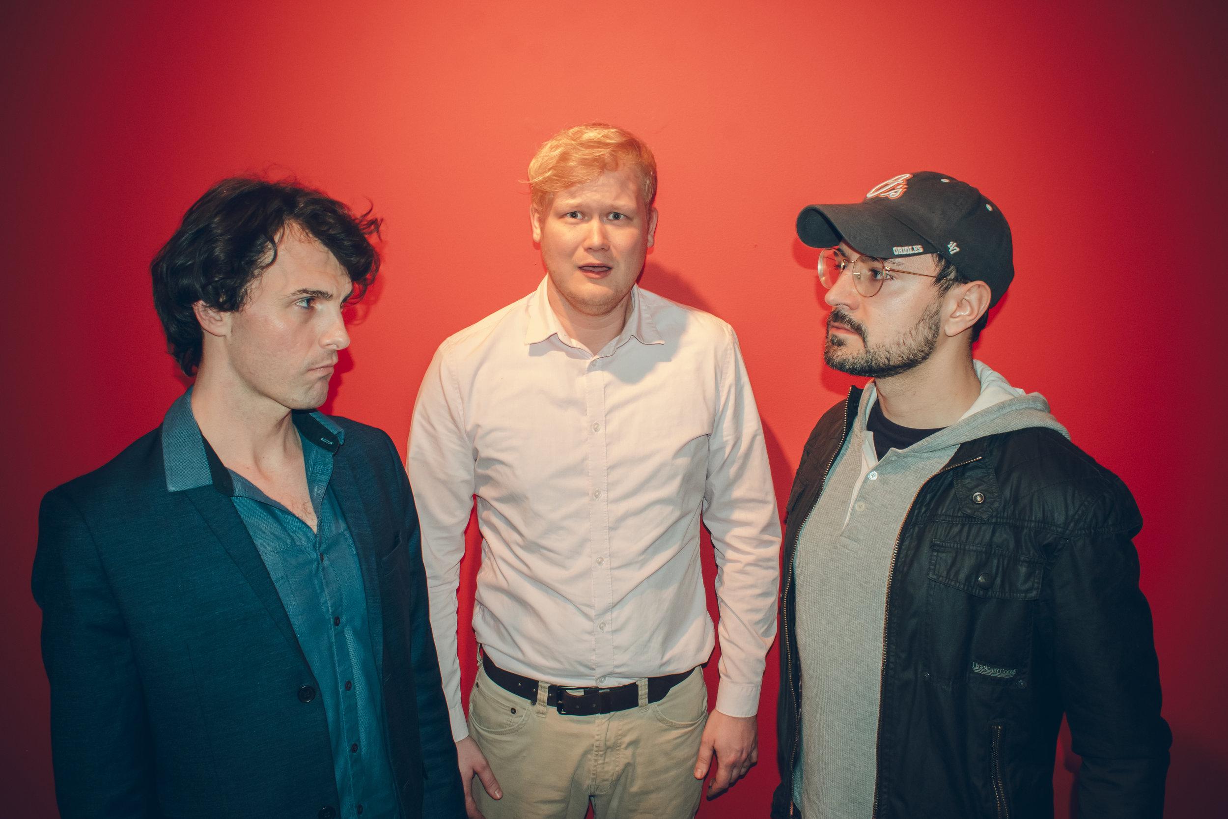 Jonathan Mayo, Kyle Mundil, and Derek Rienzi Van Tassel