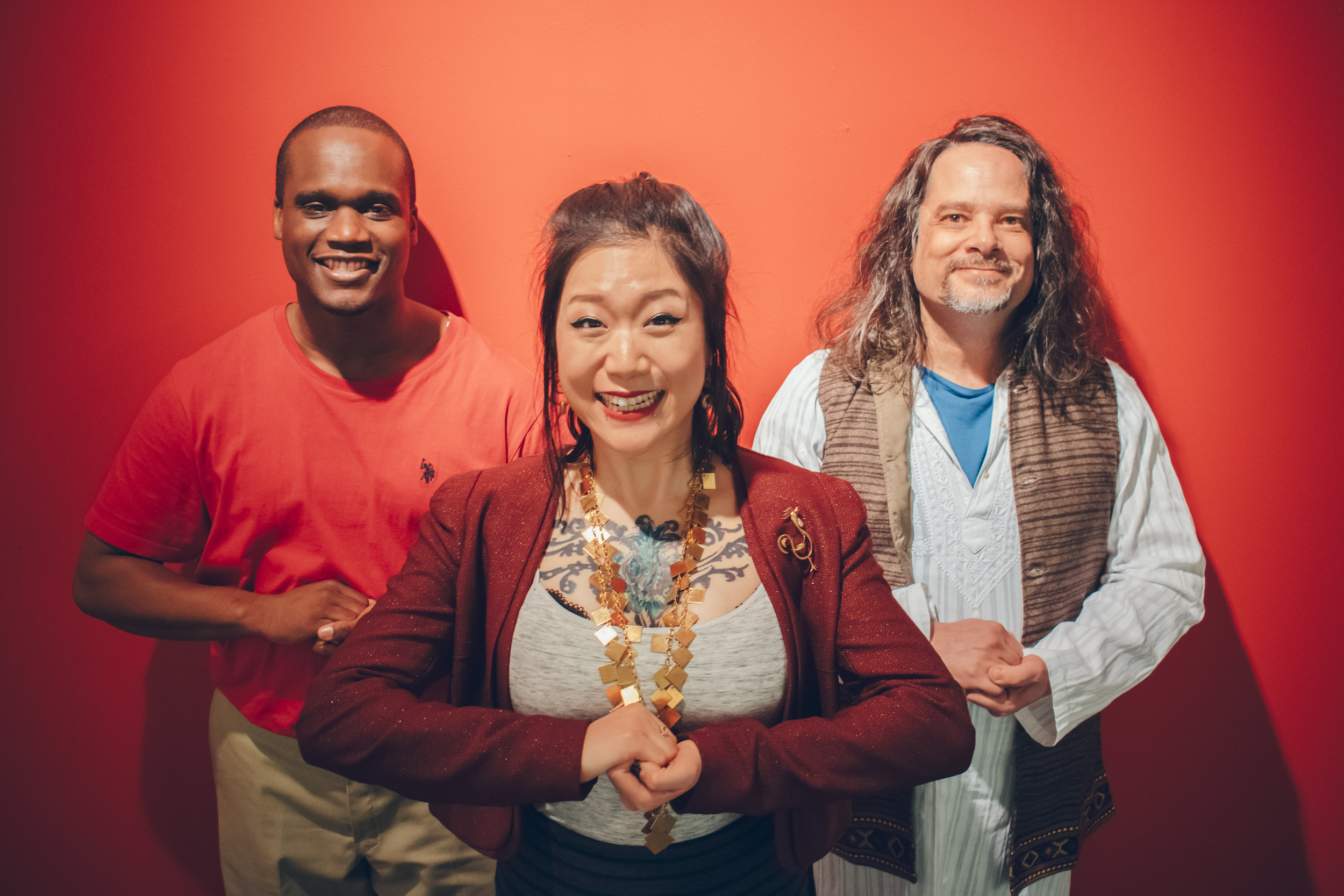 Raymond Jacquet, Wanda Jin, Dr. Phranque Wright
