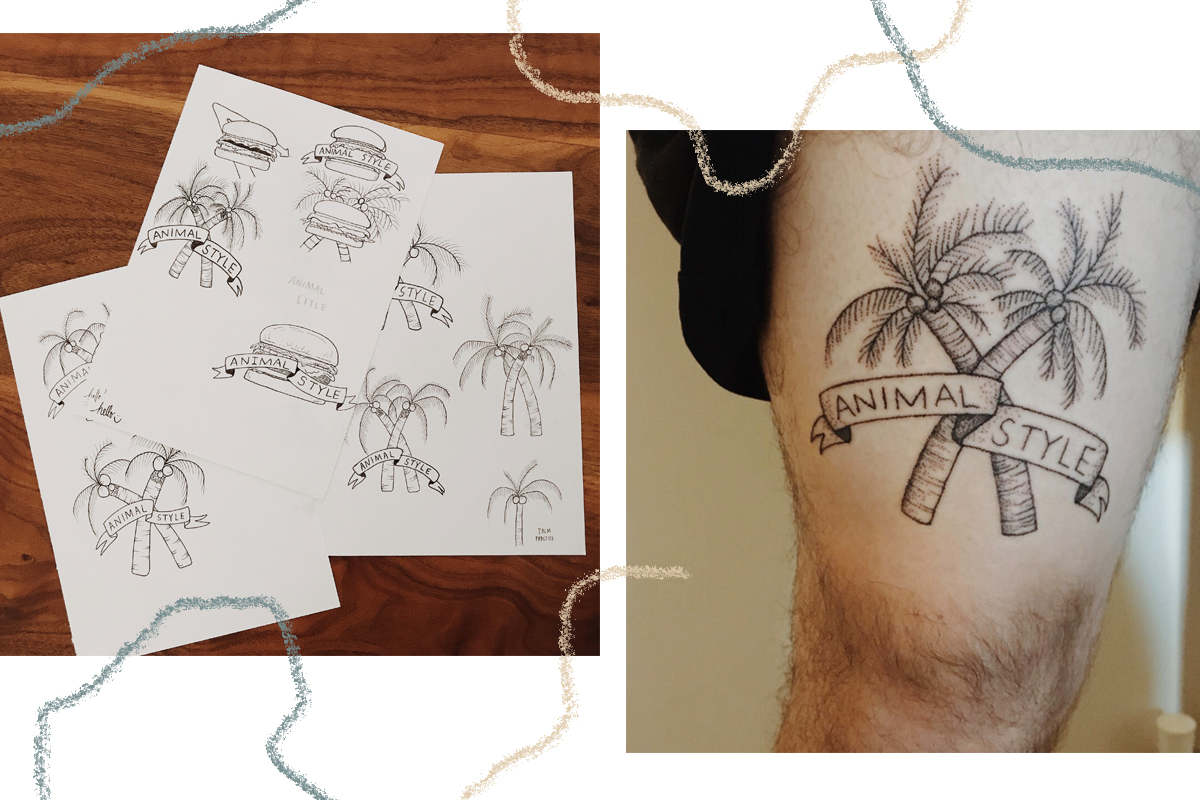 in-n-out tattoo