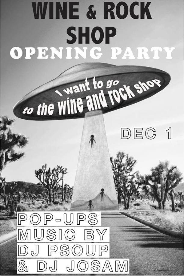 Wine and Rock Opening Party
