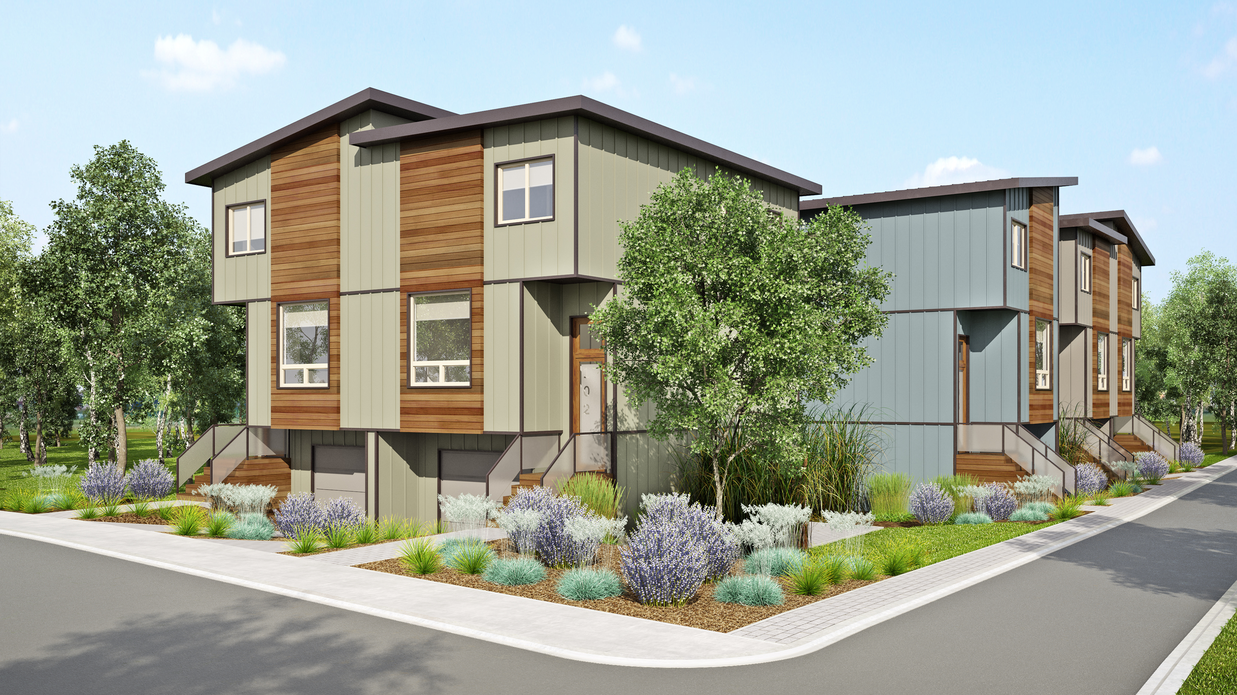 Cluster housing is moving ahead in Penticton.