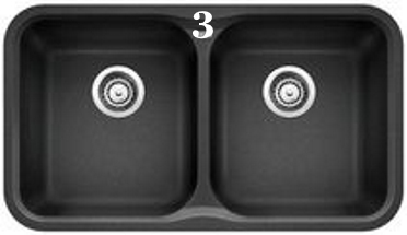 3 Blanco Vision U 2 Double Undermount Granite Composite Sink in SILGRANIT (Anthracite 400085).jpg