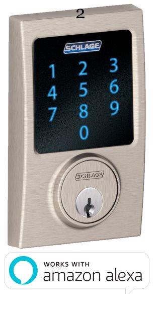 2 Schlage Connect™ Touchscreen Deadbolt with alarm with Century trim Satin Nickel.jpeg