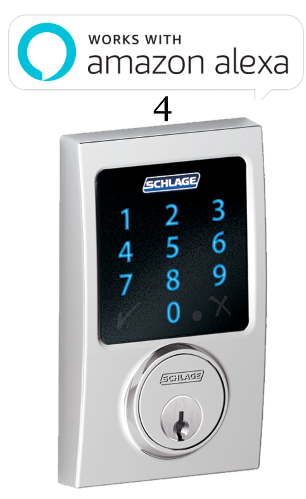 4 Schlage Connect™ Touchscreen Deadbolt with alarm with Century trim Bright Chrome (BE469NX CEN 625).png