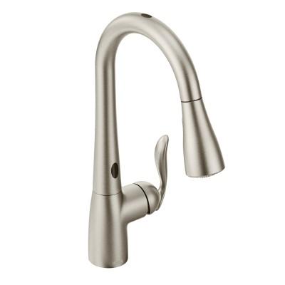 Moen Arbor Spot Resist Stainless One-Handle High Arc Pulldown Kitchen Faucet (7594ESRS).jpg