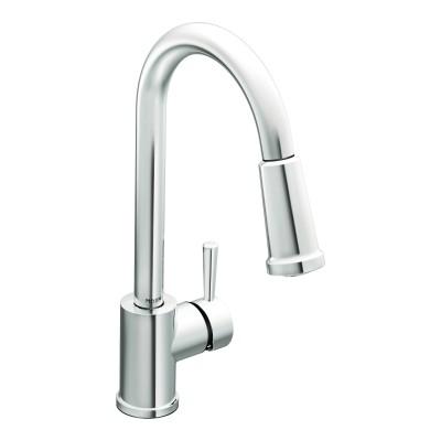 Moen Level Chrome One-Handle High Arc Pulldown Kitchen Faucet (7175).jpg