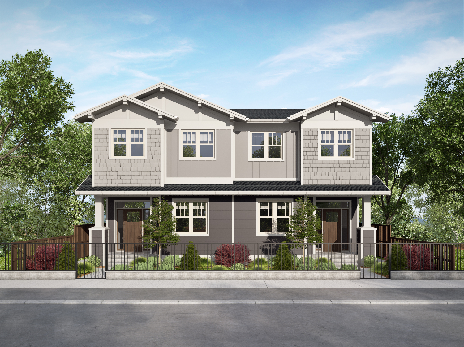SIZE: 1,596 SF LOCATION: Penticton, BC COMPLETED: 2019 SECTOR: Townhome Residential