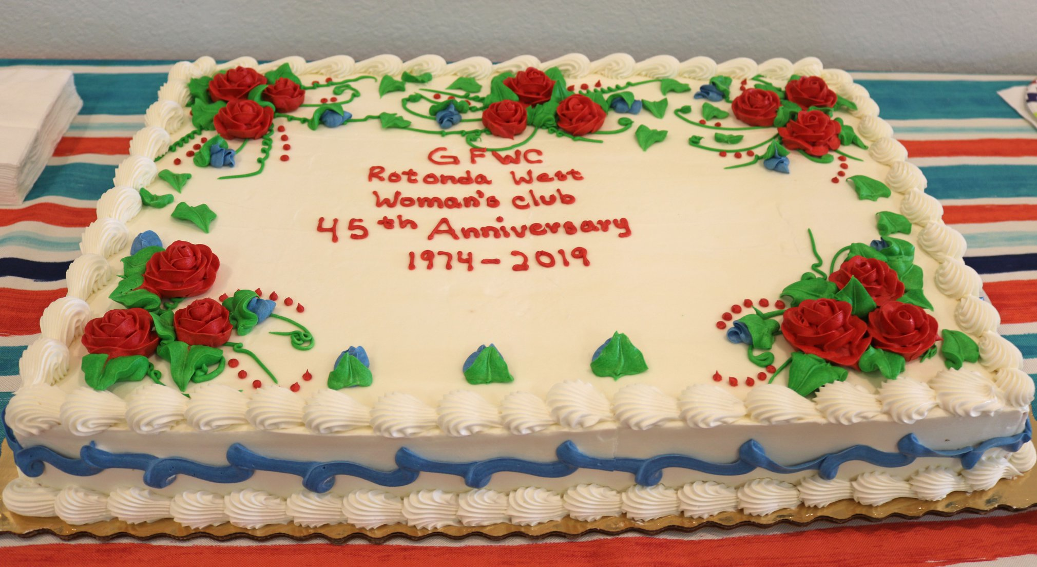 Our 45th Club Anniversary as GFWC Rotonda West Woman's Club.