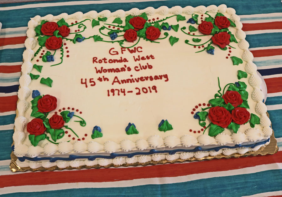 This year marks the club's 45th anniversary as a chartered club.