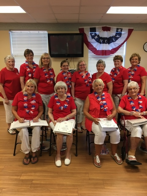 Tonettes - Our Tonettes sang for the veterans at the Douglas-Jacobson Veteran's Home in Port Charlotte on May 21, 2019.