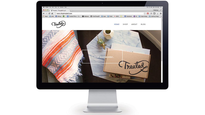 Homepage slider
