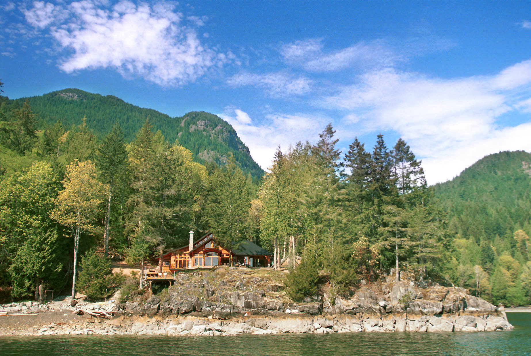Gambier Island Cottage